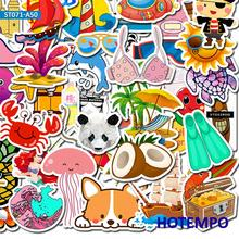50pcs Cartoon Girl Style Stickers Kawaii Anime Beach for Mobile Phone Laptop Luggage Guitar Skateboard Bike