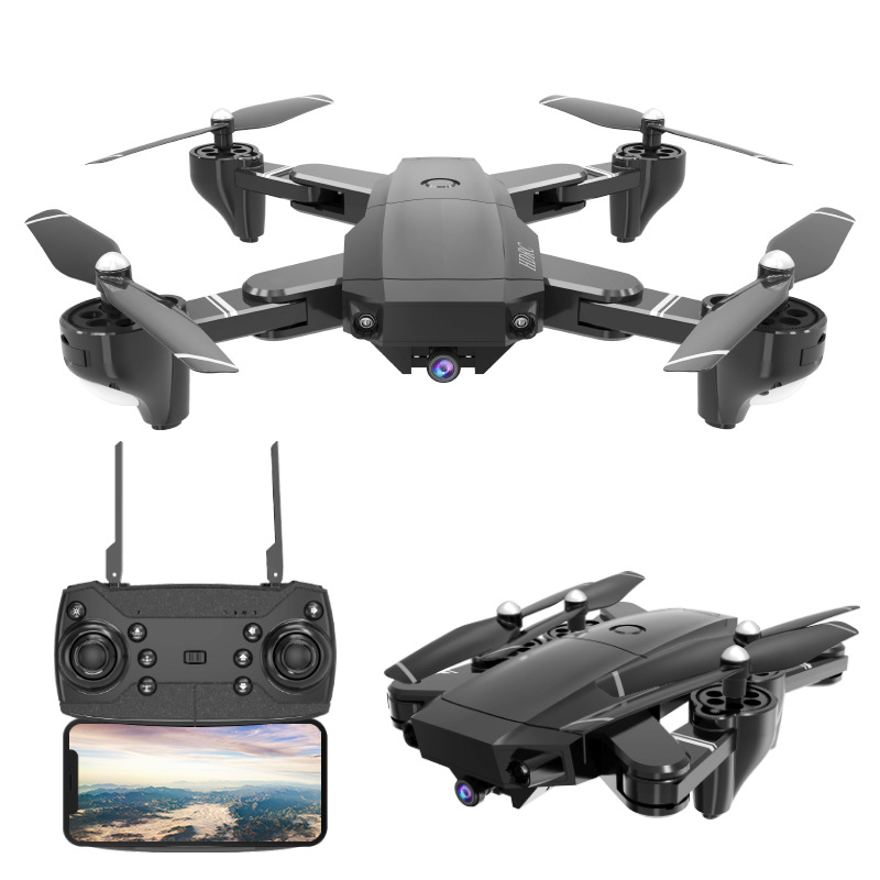 Folding Unmanned Aerial Vehicle High-definition Aerial Photography Wide-angle Webcam Quadcopter Set High Telecontrolled Toy Airc