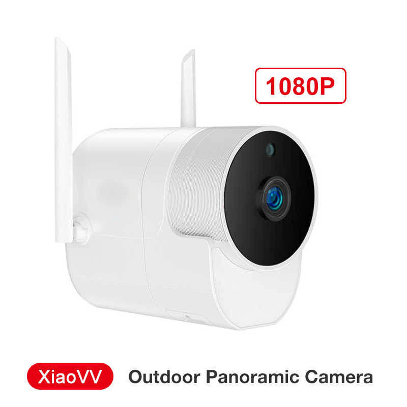 Xiaovv Outdoor Panorama Kamera Tahan Air Kamera Pengintai Wifi Nirkabel High-Definition Night Vision