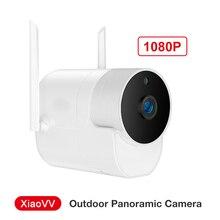 Xiaovv חיצוני פנורמי מצלמה עמיד למים מעקב מצלמה אלחוטי WIFI בחדות גבוהה ראיית לילה
