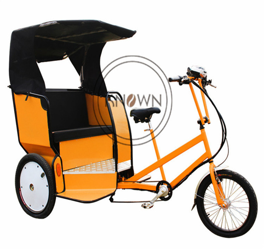 2020 New Design KN-T02 Of Cargo Bike Advertising Electric Tricycle Mobile Cargo Bike Frame For Sale