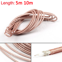 Areyourshop RG142 RF Coaxial Cable Connector 50ohm M17/60 RG