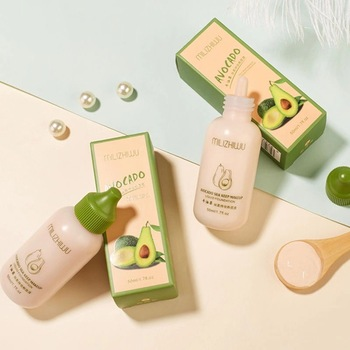 Avocado Liquid Foundation Moisturizing Concealer Lasting Oil Control Makeup Primer BB Cream 50ML Brighten Skin Face Cream TSLM2 1