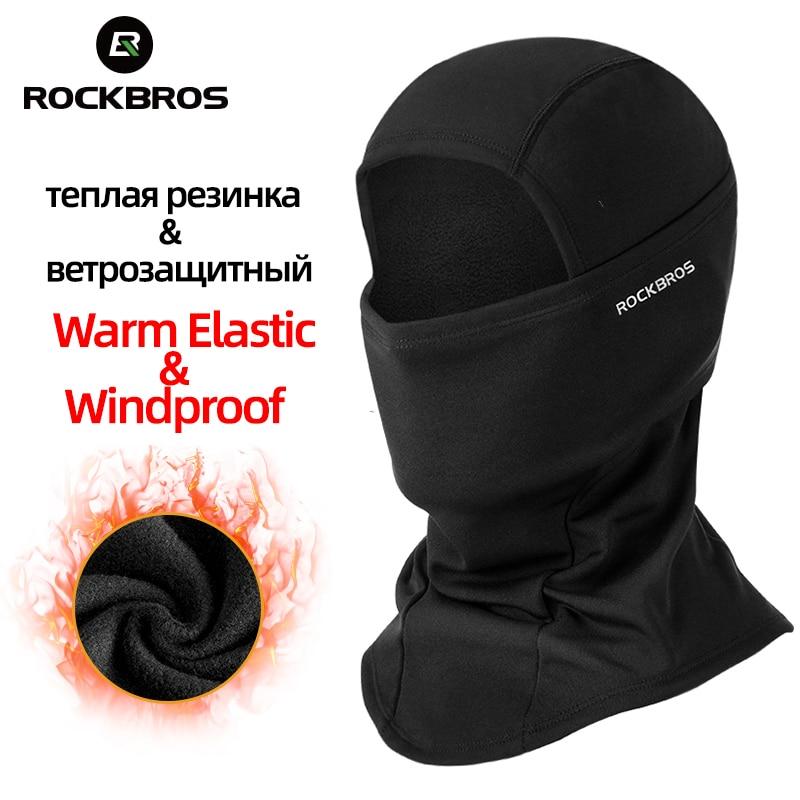 ROCKBROS mascara airsoft Cap Capô Balaclava Máscara De Esqui Ciclismo Inverno Térmico À Prova de Vento Suave Manter Aquecido Chapéu de Esqui De Corrida Esporte Máscara Facial