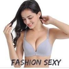GUMPRUN Deep V Comfort Wireless Female Underwear Sexy Lingerie Seamless Bra Women Push Up for Soutien gorge Bralette