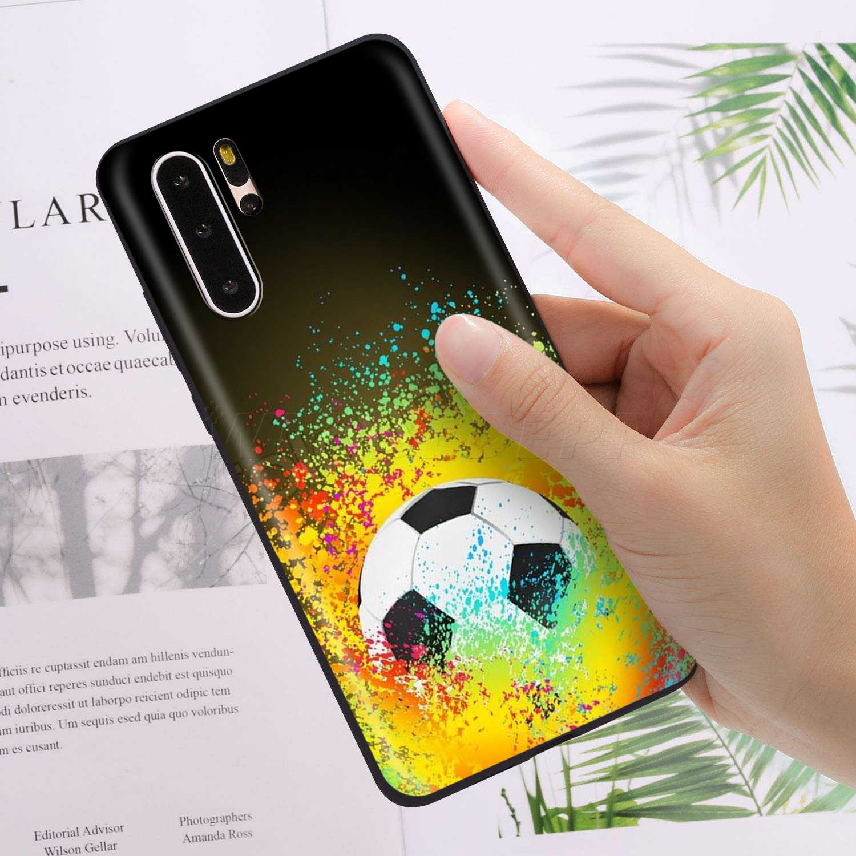 Webbedepp piłka nożna sport Case dla Huawei Honor 6A 7A 7C 7X8 8X 8C 9 9X10 20 Lite Pro uwaga widok