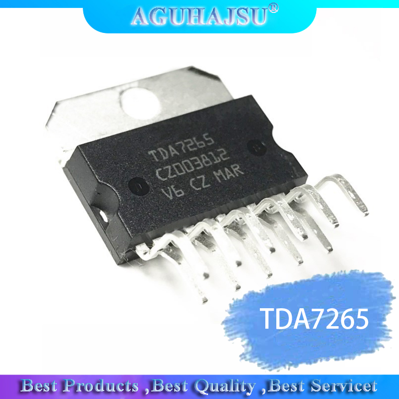 1pcs/lot TDA7265 ZIP-11 TDA7265A Dual Channel Audio Power Amplification
