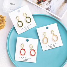 цены new fashion irregular geometric hanging dangle drop earrings for women girl elegant wedding party jewelry accessories