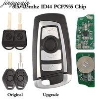 jingyuqin 10pcs 4B EWS Flip Remote Modified Car Key 315/433MHz PCF7935AA ID44 Chip For BMW E38 E39 E46 M5 X3 X5 Z3 Z4 HU58 HU92