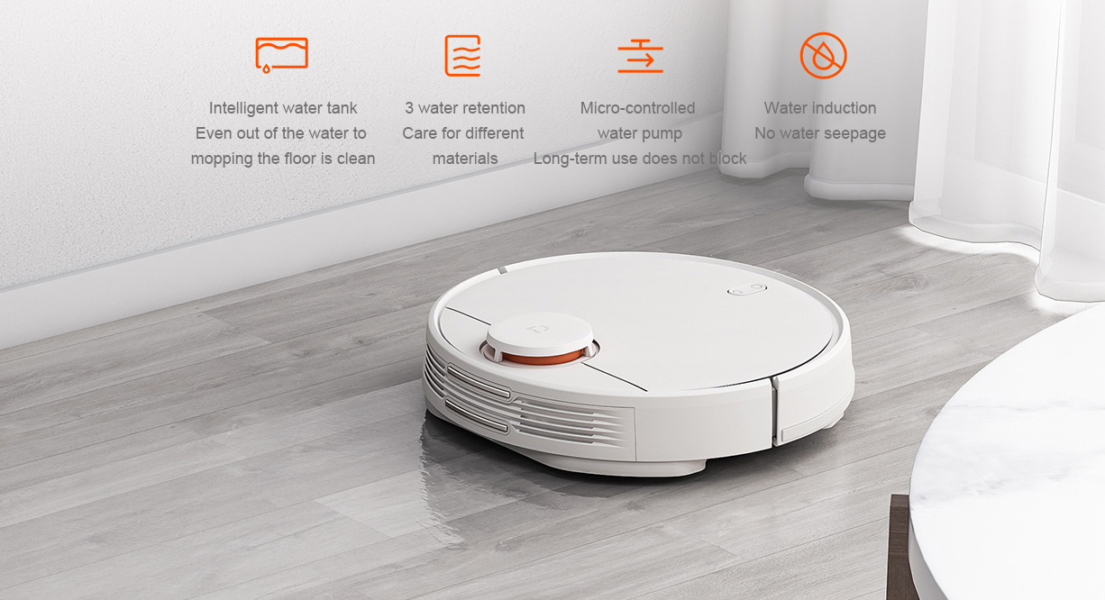 Image 5 - 2019 New Xiaomi Mijia STYJ02YM Robot Vacuum mop 2 in 1 Vacuum Cleaner 2 Mi Aspirateur 2100pa Wifi Smart Planned Clean Mi Home-in Vacuum Cleaners from Home Appliances