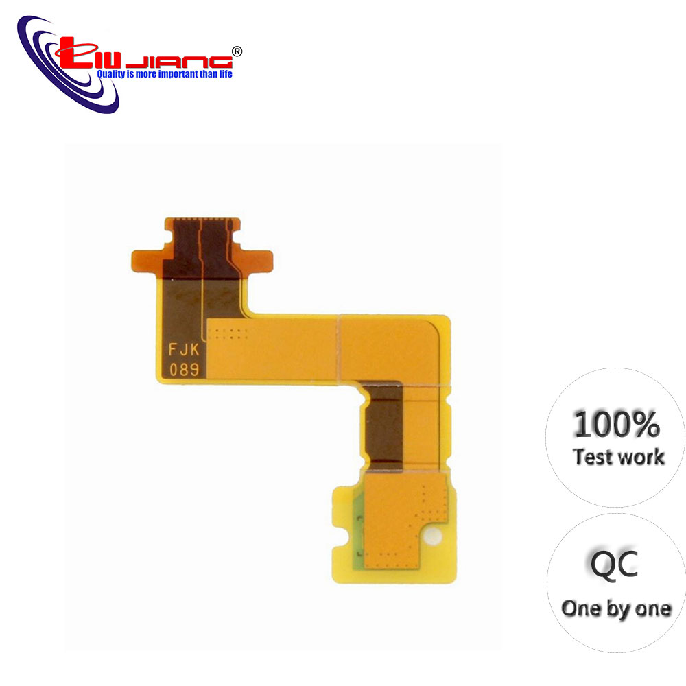 Original Flex Cable For Sony Z5 Compact Mini E5803 E5833 Camera Flash Flex Cable Replacement Parts