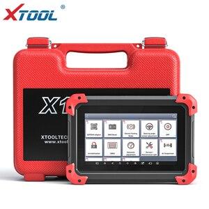 Image 1 - X100 PAD מקצועי מפתח מתכנת OBD2 אבחון סורק רכב קוד קורא רב שפה עם EEPORM עדכון באינטרנט