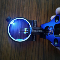 5 Pin Optics Bow Light Adjustable LED Bow Light  for Outdoor hunting Shooting Bow