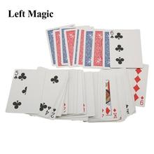 Magic Tricks Shades Shin Deck Lim-Card Magic-Accessories Gimmick of Red 52 Comedy V1