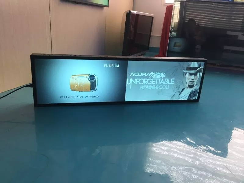 49 Inch Fhd Ultra-wide Stretched Advertising Lcd Shelf Bar Display