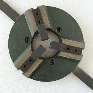 Image 3 - 溶接ポジショナーターンテーブルアクセサリー自己センタリングWP200 3 顎マニュアル旋盤チャック