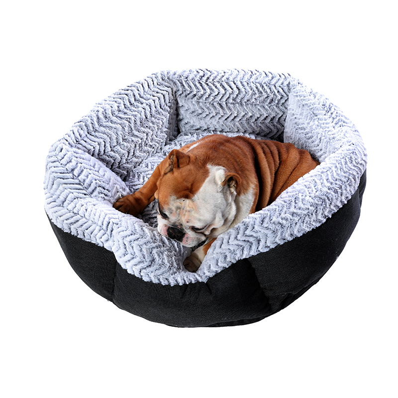 Super Large Dog Bed Round Washable Pets Bed Winter Warm Sleeping Plush Dog Kennel Cat Mats Puppy Cushion Mat Dog Cat Supplies 3