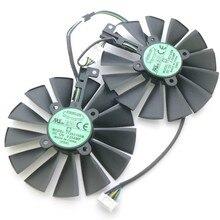 T129215sm 12v 0.25amp 95mm gpu ventilador para asus geforce gtx 1080ti rog poseidon platinum placa gráfica cooler ventilador de refrigeração