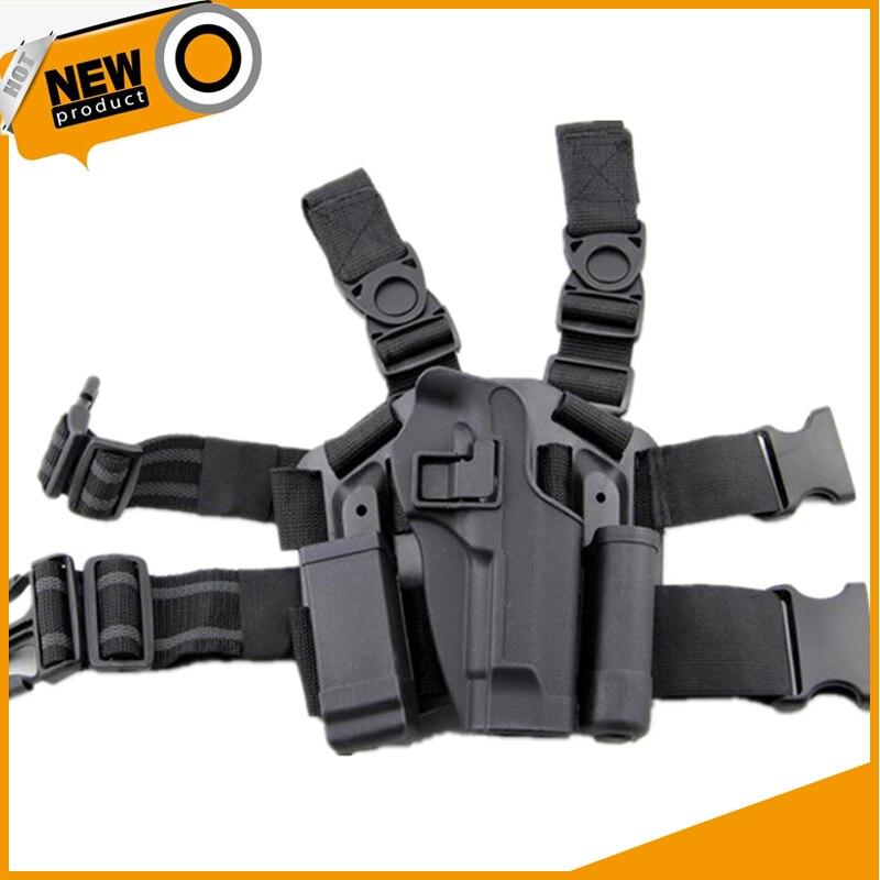 Beretta 92/96 Tactical Pistol Holster Hunting Airsoft Thigh Leg Holster Right Hand Gun Case Army Military Shooting Gun Holster