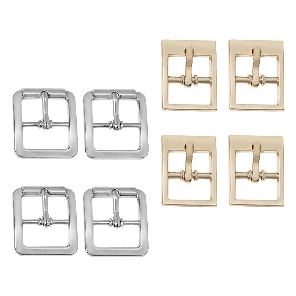 4 Pcs Roller Pin Buckle For DIY Handbag/Boot/Belt/Shoes/Clothing/Bag Strap