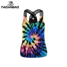 Sling Top Vest Tank-Tops Streetwear Rainbow-Print Sexy Hollow-Out Plus-Size Fashion Women