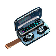 Sweatproof F9-9/F9-10 tws bt fones de ouvido bt 5.0 fone 9d estéreo som redução ruído fones hd chamada controle toque impressão digital