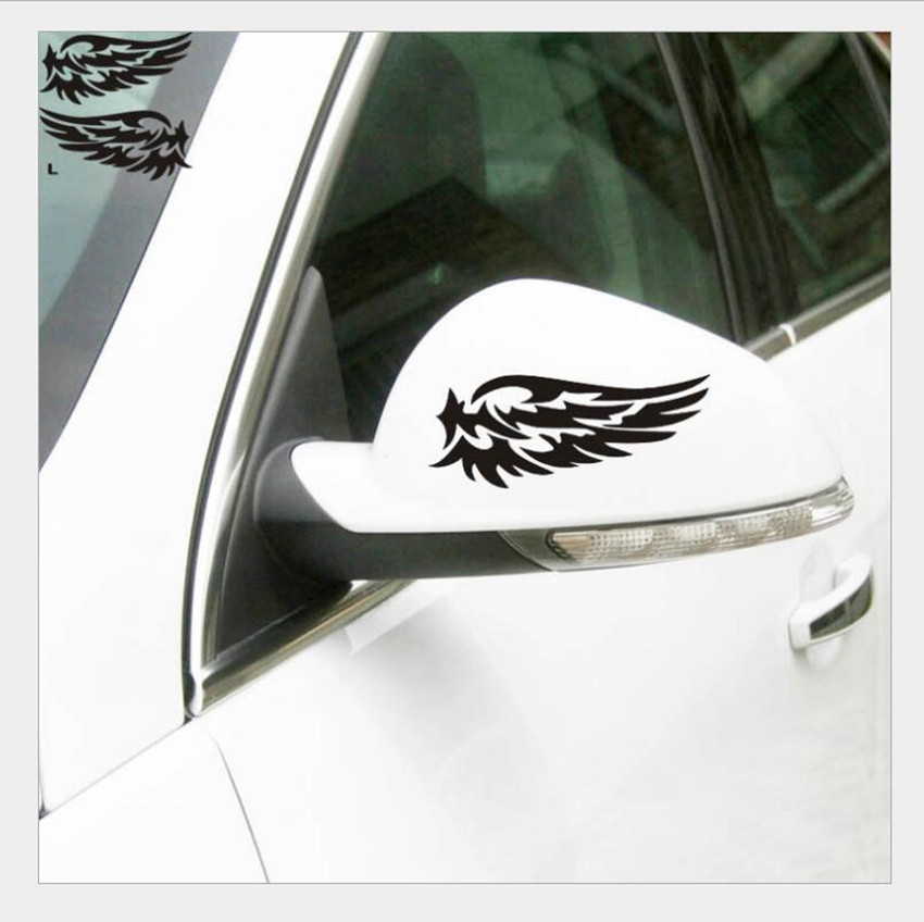 2 PC Vinyl Auto Rear View Mirror Car Sticker Decal Emblem For BUICK EXCELLE