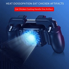 Pubg Controller Mobile Gaming GamePad Cooler Cooling Fan Fire PUBG Mobile Game C