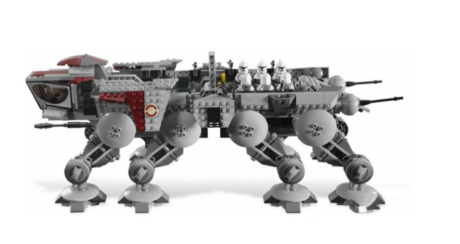 King 81055 Republic Dropship with AT-OT Walker building bricks 1778 pcs Compatible <font><b>10195</b></font> 05053 Learning Educational Toy Gifts image