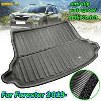 Car Boot Cargo Liner Tray For Subaru Forester SK 2019 2020 MK5 Trunk Floor Mat Liner Carpet Tray Waterproof Accessories