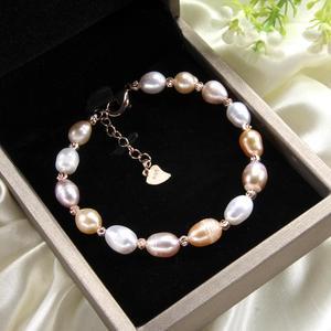 Image 3 - CoeufuedyG Pearl Bracelet fashion Multi Color Bracelet For Women Gift Adjustable charm Bangles Jewelry