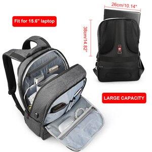 Image 4 - Tigernu אנטי גניבה USB bagpack 15.6 כדי 17 אינץ מחשב נייד תרמיל עבור גברים ילד זכר נקבת תיק בית ספר נסיעות המוצ ילה עסקי bagpack