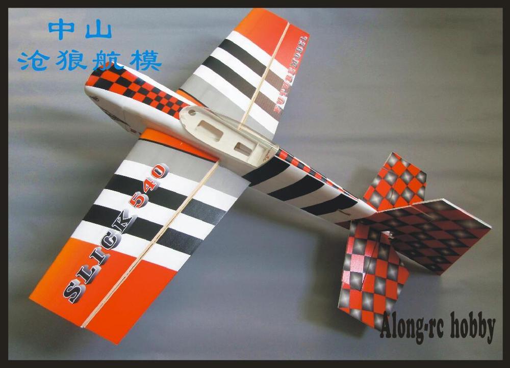 """Будущее PP материал самолет RC 3D модель ру аэроплана хобби размах крыльев 3"""" 15E slick540 SLICK 3D самолет комплект или PNP Набор 04A 04B цвет - Цвет: 04B KIT"""