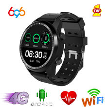 Reloj inteligente 696 KC03 4G GPS Android 6,0 IP67 impermeable reloj inteligente Bluetooth Wifi 1GB + 16GB reloj 2.0mp Cámara Smartwatch deportes(China)