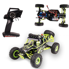 WLtoys 1:12 12428 RC Car 4WD 2.4G 50KM/H High Speed Monster Truck Remote Control Car RC Buggy Off-Road Updated USB Version VS