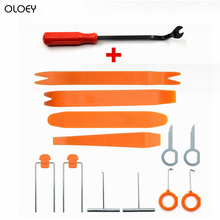 Auto Auto Reparatur Demontiert 12 teile satz für Audio Removal Install Hebeln Werkzeuge Auto Radio Tür Clip Panel Trim Dash cheap OLOEY CN (Herkunft) der Kunststoff 140g Car Removal Tool as photo china best and timely within 48 hours for all the cars