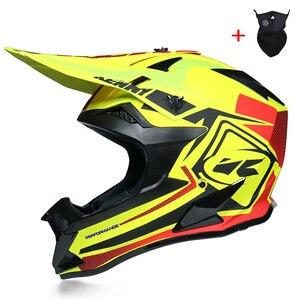 Image 2 - Professionele Lichtgewicht Motocross Helm Atv Off Road Downhill Cross Capacete Da Motocicleta Cascos Dot Goedgekeurd