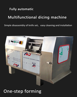 Commercial Beef Chicken Breast Cutting Dicing Machine Meat Dicer Grainder