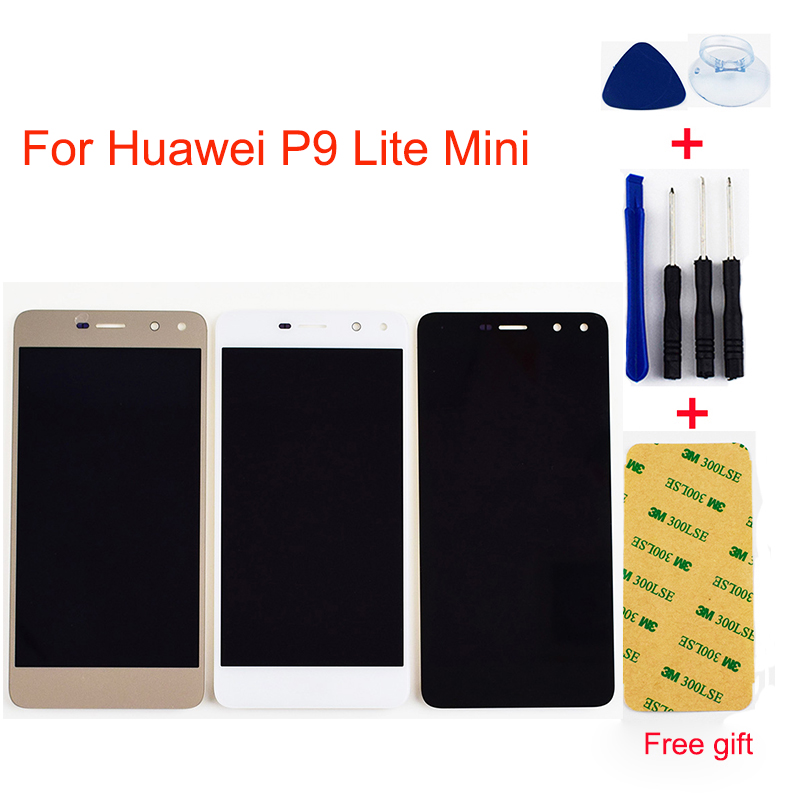 For Huawei P9 Lite Mini LCD Screen SLA-L02 SLA-L22 SLA-L23 LCD Display Touch Screen Digitizer Glass Assembly Replacement
