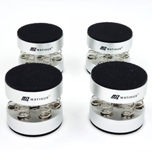 Audiophile shock spikes spring damping pad HIFI Stand Feet speaker spike audio CD amplifier foot pad single products weight 102g
