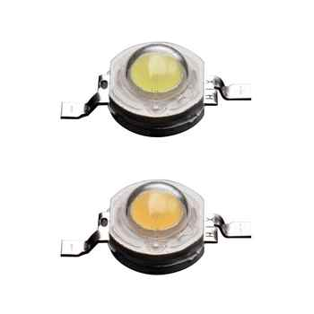 50pcs/Bag 1W 3.0-3.4V LED Lumens Lamp Beads High-power Aluminum Bracket Lamp Bead For DIY Flood Light - DISCOUNT ITEM  46% OFF All Category