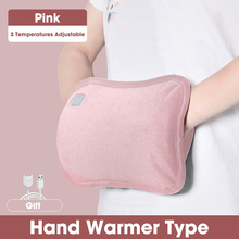 الوردي التدفئة الكهربائية الأيدي دفئا الأشعة تحت الحمراء الحرارية وسادة ساخنة USB الذكية الحرارة لتخفيف الآلام الملابس سخان أطقم دروبشيبينغ 2020