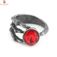 SC Game Dark Souls 3 Ring Fire Clutch high quality Crystal Hyperbole Cospla Accessories Men jewelry Gift for fans