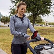 Аксессуары для детских колясок для мобильных телефонов, регулируемый кронштейн каретки, пластиковый держатель для детских велосипедов