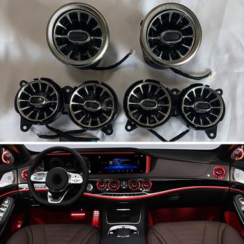 Dla Mercedes-Benz S-Class W222 oświetlenie otoczenia LED Car Dashboard Console AC Condition Outlet Turbine Trim Nozzle Lamp tanie i dobre opinie CN (pochodzenie) Klimatyczna lampa 30cm