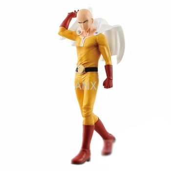 20CM One Punch Man Saitama Figure PVC Action Japan Anime Peripherals Collection Toy DXF Great Gifts
