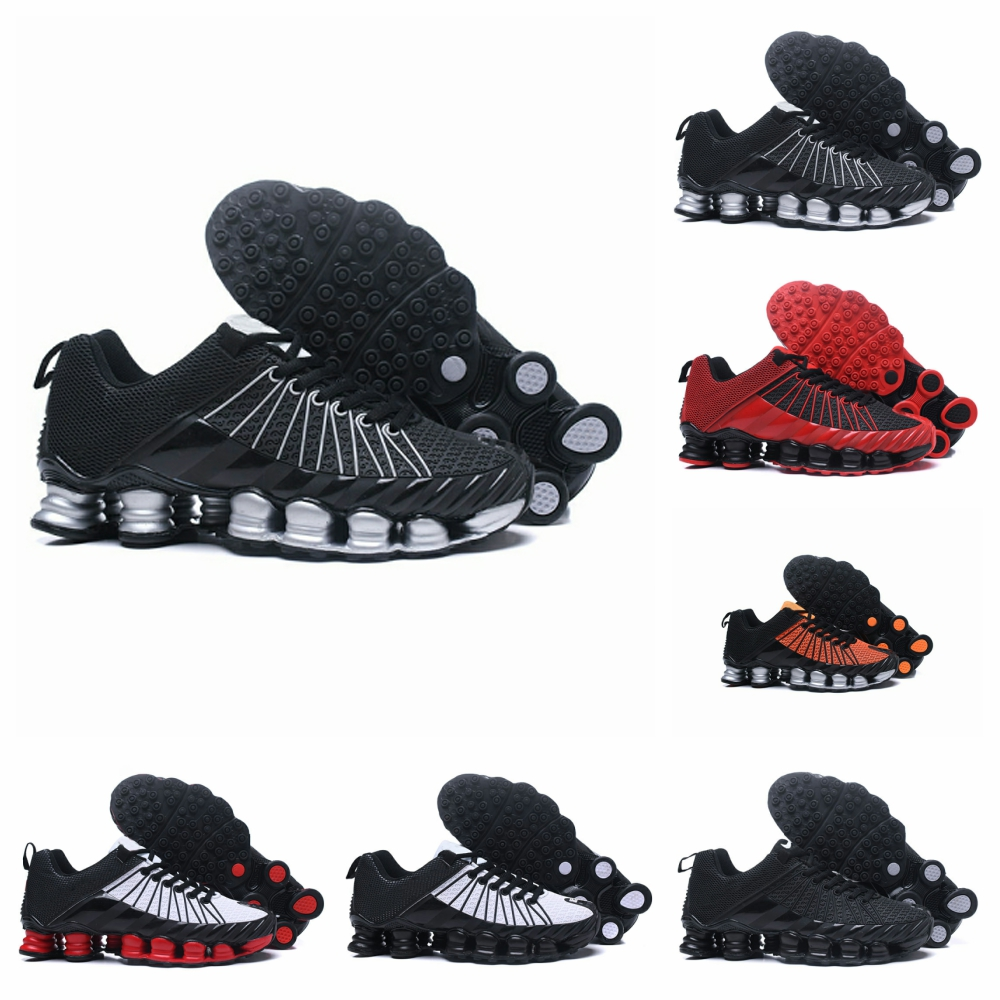 Men's Black Training TL Mens Running Shoes Basketball Athletic Sports Shoes Black White Outdoor Walking Sports Shoes 40-46