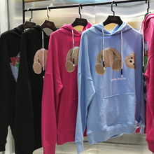 Palm Angels Hondies Men Women Sweatshirts Harajuku Hip Hop Sweatshirt Xxxtentacion One Piece