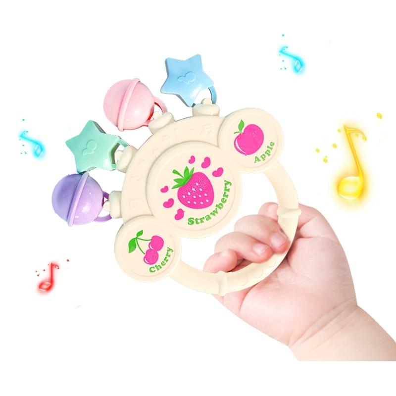 Jouets de décoration de chambre de bébé, cloche à main, jouets pour nourrissons, jeux sensoriels, pour bébés de 0 à 12 mois, jouets de développement du nouveau-né, jouets éducatifs