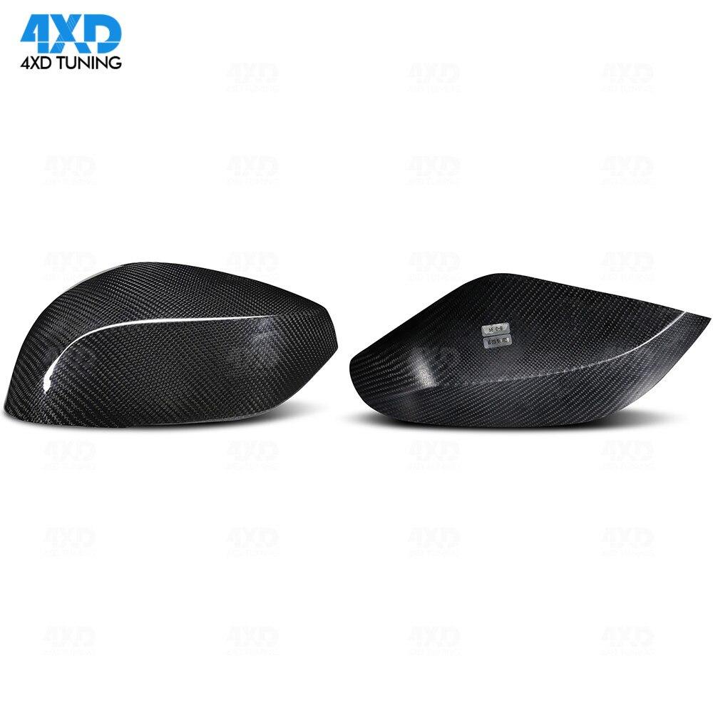 For Infiniti Q60 QX30 2016 Q50 Q70 2014 Carbon Fiber Mirror Cover Add on Type